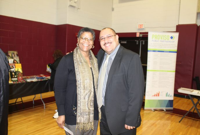 Regina Rivers and Dr. Negron