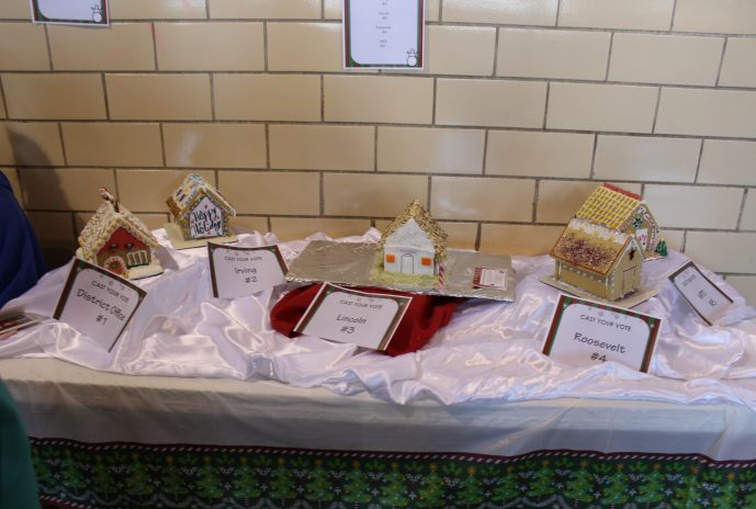 Gingerbread House Contest entries
