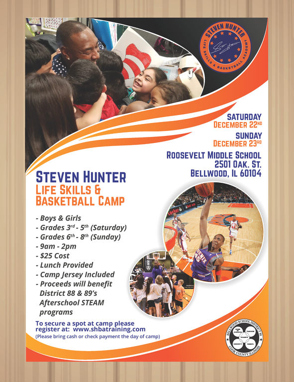 Steven Hunter Basketball Camp